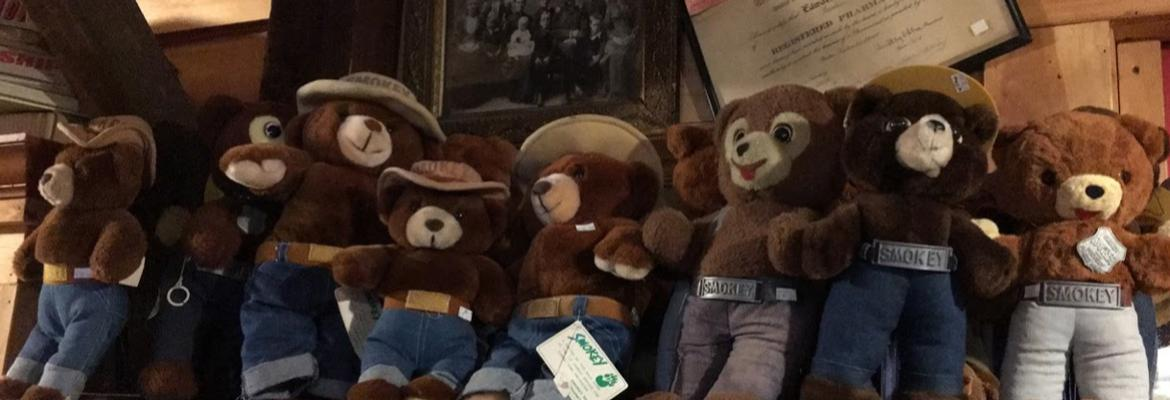 Vintage Smokey the Bear Plush Toys