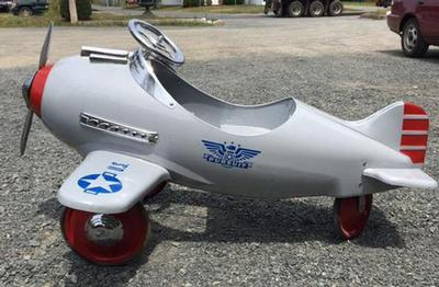 Awesome Airplane Peddle Car $550